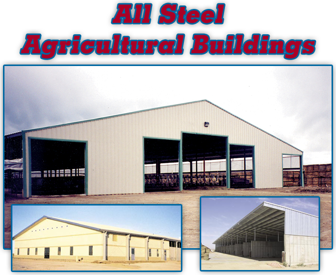 Bolt Together Shed : Albers dairy equipment agricultural buildings